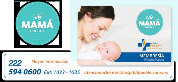 a0b6e203a Al ser Mamá Puebla obtienes un 10% de descuento en tus próximas visitas al Hospital  Puebla